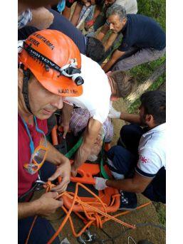 Zonguldak'Ta Atv Aracı Uçuruma Yuvarlandı: 1 Yaralı