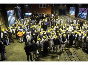Zonguldak'ta Madenciler, Toplu Iş Sözleşmelerinde Anlaşma Olmazsa Grev Yapacak
