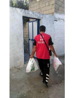 35 Aileye Gıda Yardımı