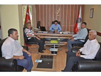Başkan Özdemir'den Emniyet Müdürü Uçan'a Başarılar Diledi