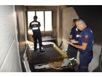 Kapıyı Çaldı, Pansiyonu Ateşe Verip Kaçtı