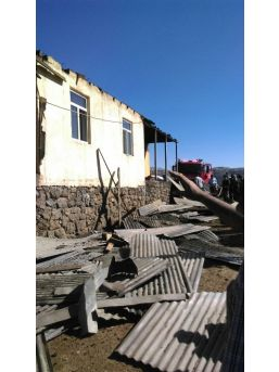 Bingöl'de Çatı Yangını