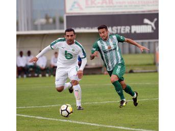 Bursaspor, Pilot Takımına Gol Yağdırdı