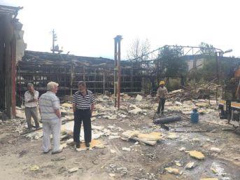 Mantar Fabrikasında Yangın