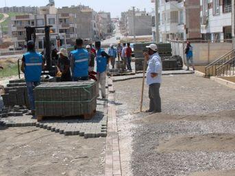 Sokaklardaki Yol Çalışmaları Tamamlanıyor