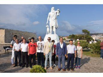 Sinop'ta Diyojen Heykelinin Kaldırılması İçin Eylem