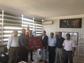 Başkan Kahraman'dan Edremit Kaymakamı Çiçekli'ye Ziyaret