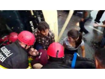 Zonguldak'ta Midibüs Devrildi: 2 Yaralı