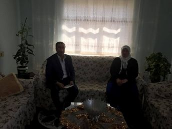 Başkan Kahraman'da Şehit Ailelerine Ziyaret