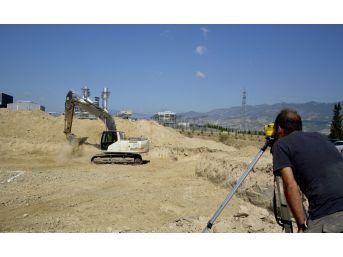 Sarayköy'de Toki Konutlarının Yapımına Başlandı