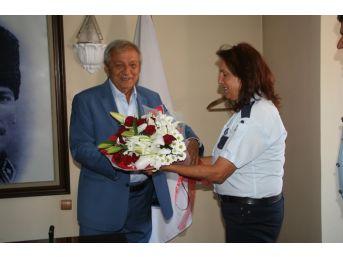 Zabıta Personelinden Başkan Semerci'ye Ziyaret