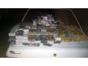 Irak Plakalı Otomobilde 768 Kaçak Cep Telefonu