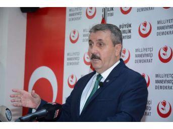 Bbp Başkanı Destici: