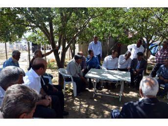 Müdür Asak'tan Köy Ziyaretleri