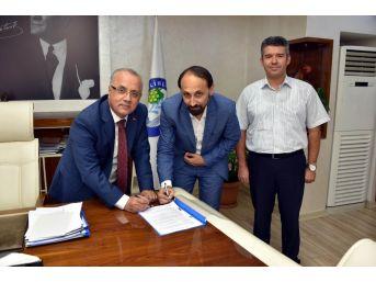 Salihli Osb'nin Altyapı Sözleşmesi İmzalandı