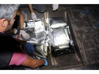Mersin Limanı'ndaki Uyuşturucuyla İlgili 5 Kişi Tutuklandı