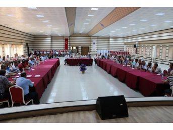 Ürgüp'te Okul Servis Sürücüleriyle Toplantı Yapıldı