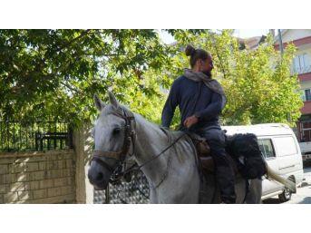 İsveç'ten Atlarla Kudüs'e Yolculuk Yapan Mühendis Adıyaman'da