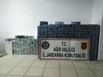 Ağrı'da Kaçak Sigara Operasyonu