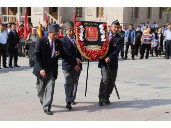 Aksaray'da 19 Eylül Gaziler Günü Anma Programı Düzenlendi
