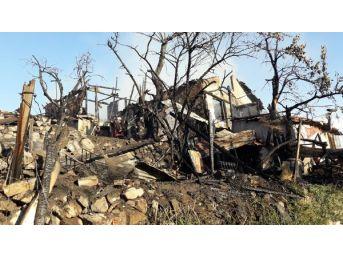 Ankara'da Gecekondu Yangını
