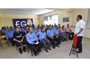 Ego'da İş Güvenliği, İlk Yardım Ve Yangın Tatbikatı