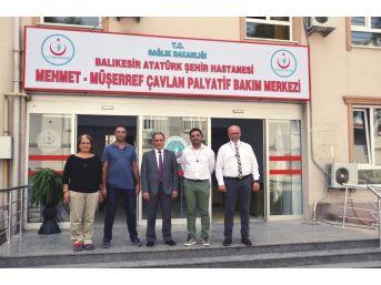Türkiye'nin En Büyük Palyatif Bakım Ünitesi Balıkesir'de Açılıyor