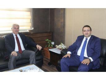 İl Başkanı Yumak'tan Başkan Memiş'e Ziyaret
