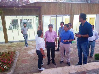 Başkan Bakıcı Cemalettin Köklü Parkı'nda İncelemelerde Bulundu