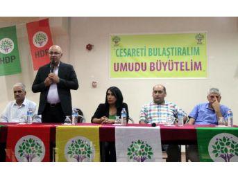 Hdp'li Özsoy: Kürtler Kutupta Bile Hak Iddia Etse, Engellemek Için Çabalıyorlar
