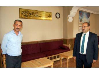 Bitlis'te Taziye Evi Ve Basketbol Sahası Çalışması