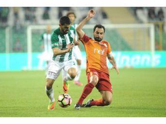 Bursaspor Ile Galatasaray Ligde 97'nci Randevusunda