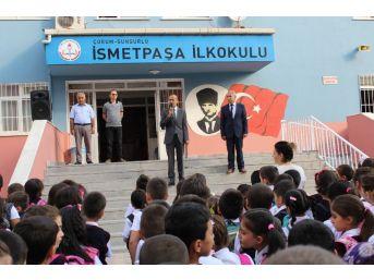 Sungurlu'da 8 Bin 024 Öğrenci Ders Başı Yaptı