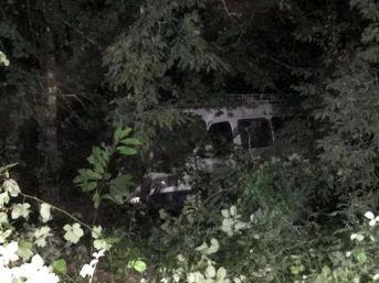 Fındık Işçilerini Taşıyan Minibüs Şarampole Yuvarlandı: 13 Yaralı