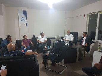 Ergüney'e Desteğe Geldi, Yatırım Müjdesi Verdi...