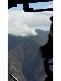Arsuz'da Orman Yangını