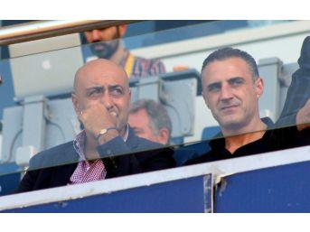 Milli Takım Heyeti Kasımpaşa - Kayserispor Maçında