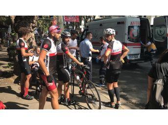 (özel Haber) Sarıyer'de Profesyonel Bisikletçi Ölümden Döndü