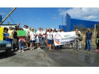 Foça'da Cüruf Alanına Atık Yakma Tesisi Yapılmasına Tepki