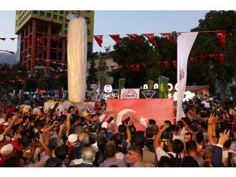 Kahramanmaraş Dondurma Festivali Rekorla Başladı
