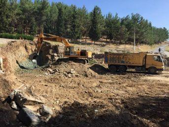 Eynal Kaplıcaları'nda 'butik Otel' İnşaatı Başladı