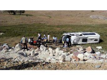 Kütahya'da Trafik Kazası: 7 Yaralı