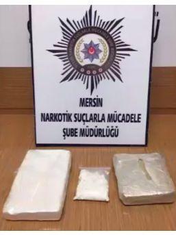 Mersin'de Nefes Kesen Kokain Operasyonu
