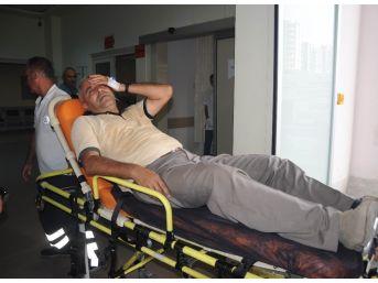 Mersin'deki Yangında 6 İşçi Dumandan Etkilendi