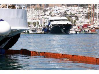 Bodrum Limanı'ndaki Feribotta Akaryakıt Sızıntısı