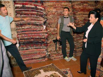 Vali Civelek'ten Ahilik Haftasında Esnaf Ziyareti