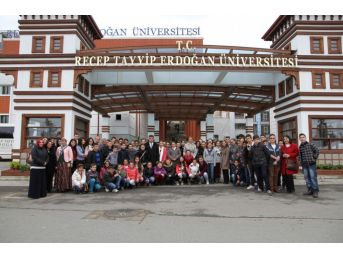 Recep Tayyip Erdoğan Üniversitesi Türkiye'nin İlk 50 Üniversitesi Arasına Girdi