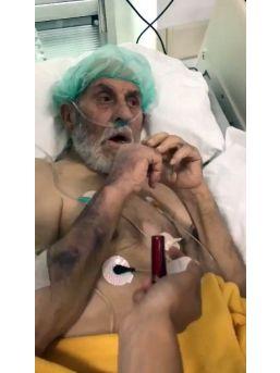 Yoğun Bakımda Kendisine Sigara Verilerek Dalga Geçilen Yaşlı Adam Ağustos Ayında Hayatını Kaybetmiş