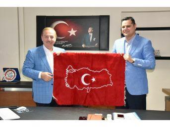 Başkan Kadıoğlu'ndan İpekyolu Belediyesine Ziyaret