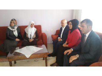 Hak-iş Konfederasyonu Genel Başkanı Arslan, Şehit Ailelerini Ziyaret Etti